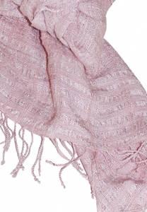 Bilde av Silkeskjerf Queen Saba - Lys rosa -
